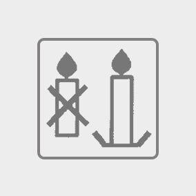 Always use a candleholder