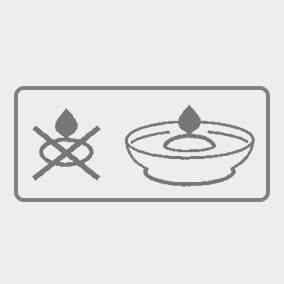 Floating candles for use in water only