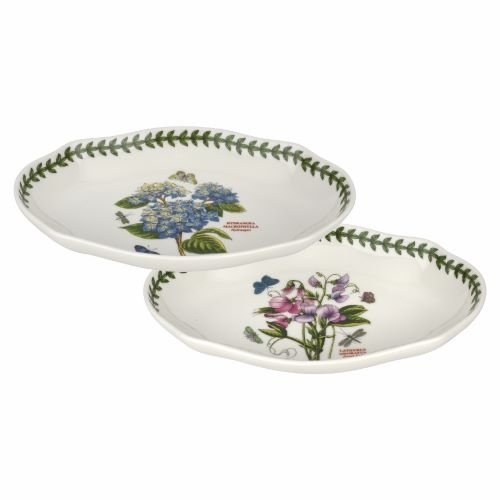 Portmeirion Botanic Garden Pickle Dish (Set of 2) image number null
