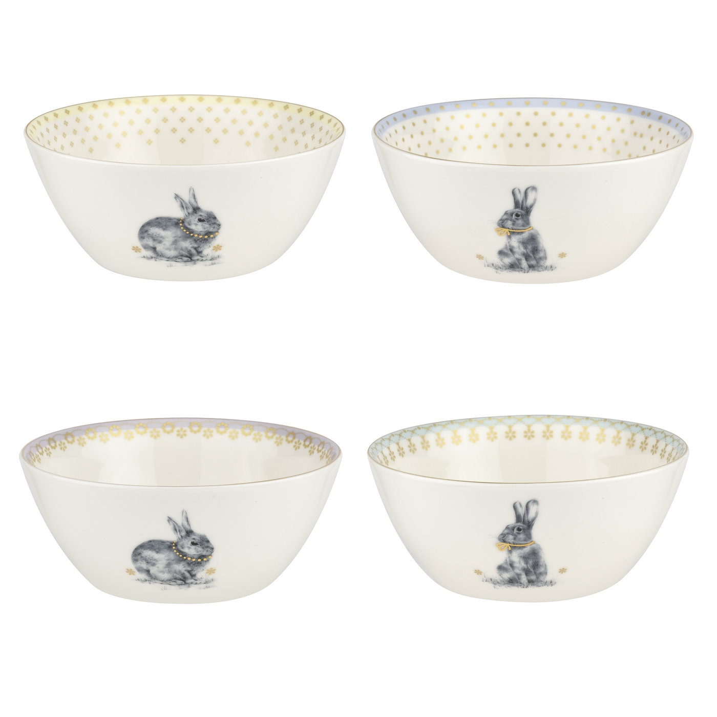 Spode Meadow Lane 6 Inch Cereal Bowl Set of 4 image number null