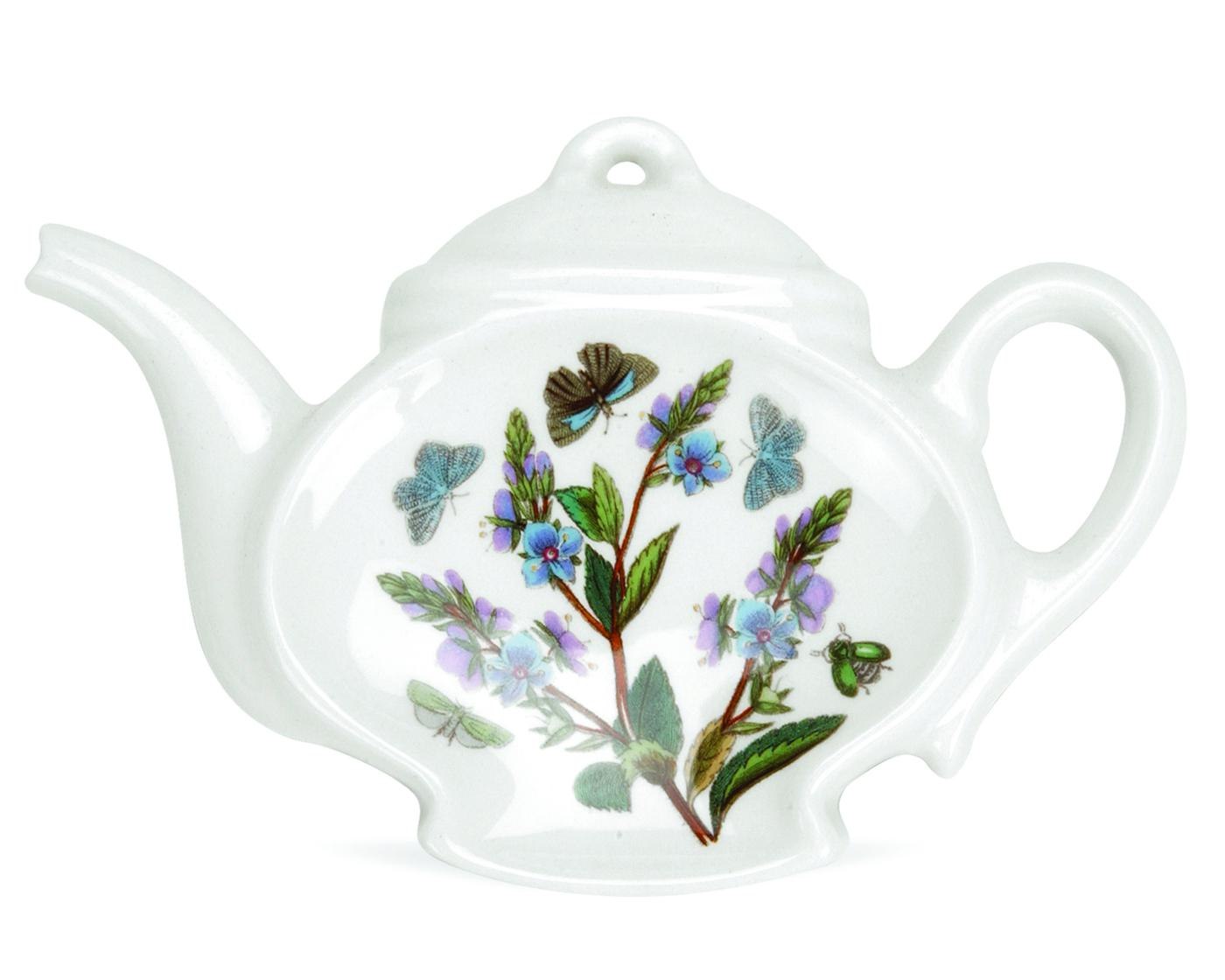 Botanic Garden 5.5 Inch Teapot Spoon Rest (Assorted Motifs) image number null