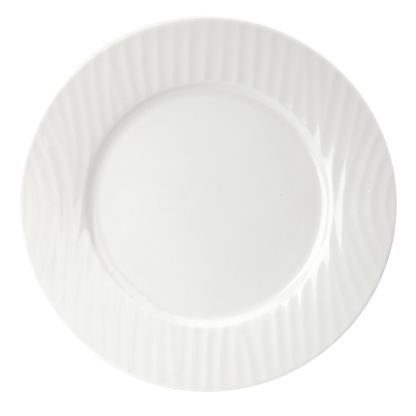 Sophie Conran for Portmeirion White Oak 8.5 Inch Rimmed Salad Plate image number null